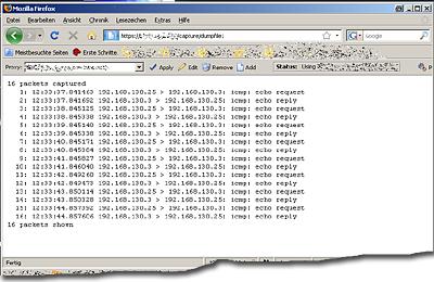 CiscoASA Dumpfile über Browser